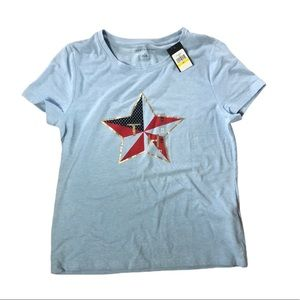 TOMMY HILFIGER LIGHT BLUE TEE